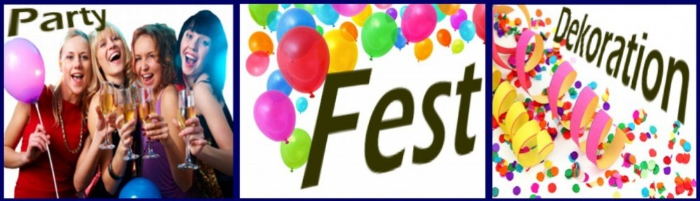 Party-Fest-Dekoration