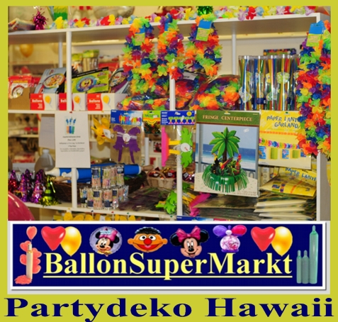 Partydeko Hawaii